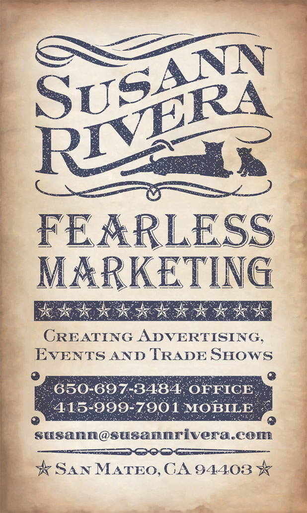 Susann Rivera - Fearless Marketing - Creating Advertisting, Events and Tradeshows